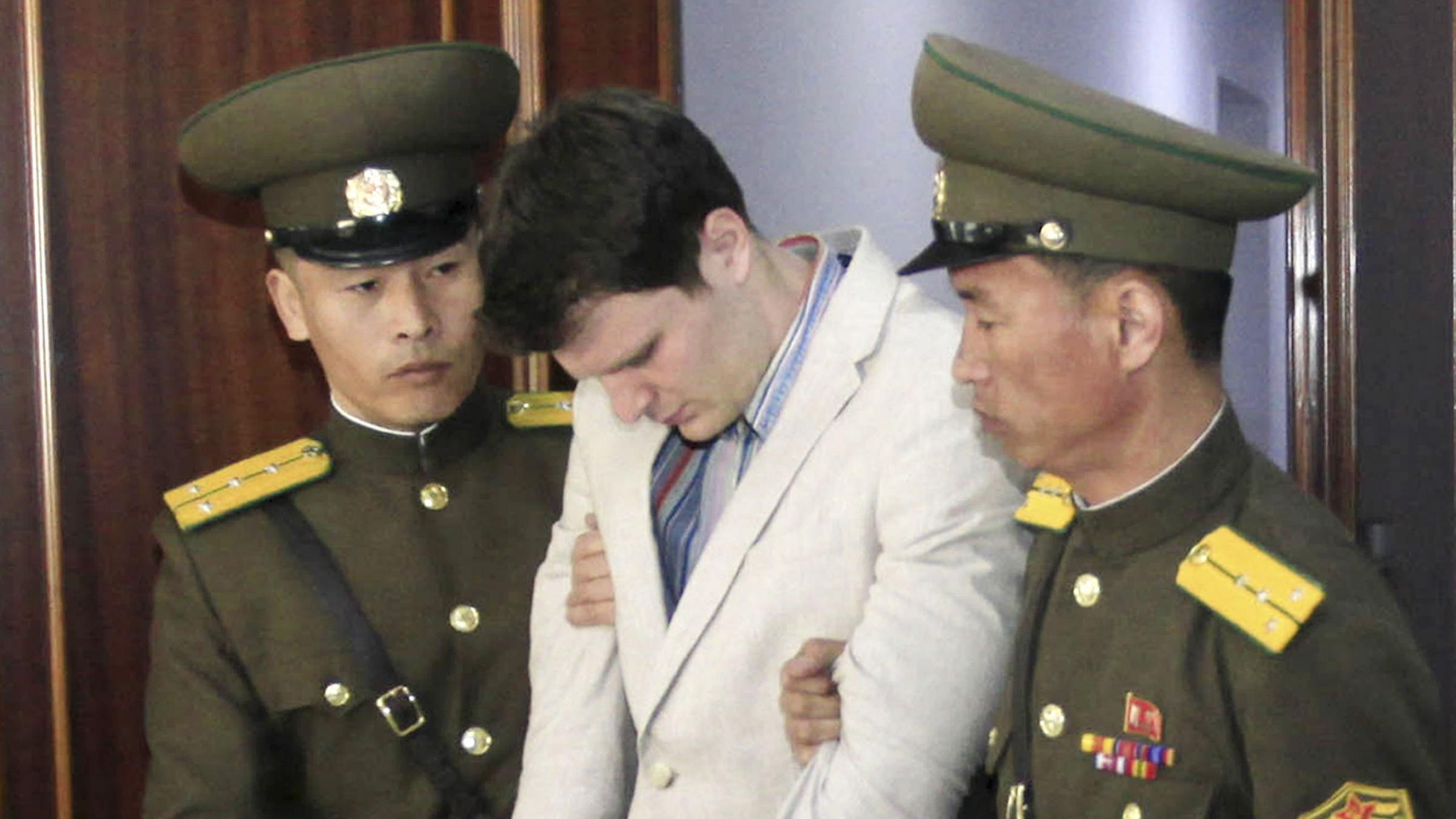Doctors: Ex-North Korea detainee has severe brain damage